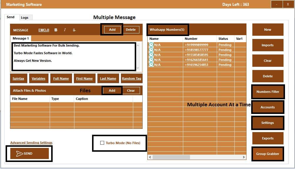 WappBlaster whatsapp marketing tool